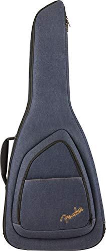 Fender® »FE920 DENIM ELECTRIC GUITAR GIG BAG« Borsa per Chitarra Elettrica - Colore: Gold Denim