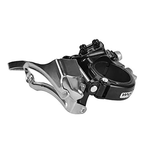 CYSKY Bicicleta de montaña Desviador Delantero MTB Bicicletas Desviadores de Bicicleta de Montaña Desviador de Percha para Shimano Bicicletas Monte MTB Transmisión