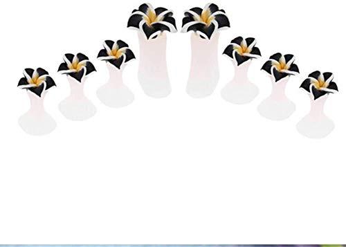 YAIRMIS Cómodo y Duradero Separador de Silicona del Dedo del pie, Dedo del pie Cuidado de Yoga de la práctica, pedicura Inicio Los separadores del Dedo del pie Órtesis de Dedo del pie (Color : 4)