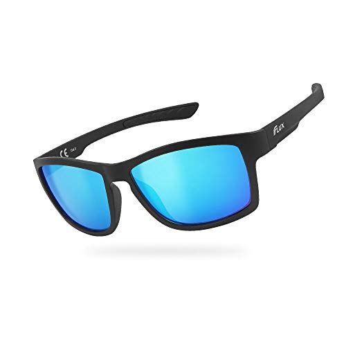 FLUX FX21 Injected PC Polarized Sports Unisex Sunglasses for Active Lifestyles