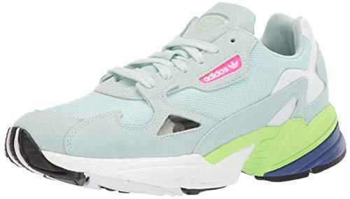 adidas Originals Women's Falcon Running Shoe, ice Mint/ice Mint/Black, 7 M US