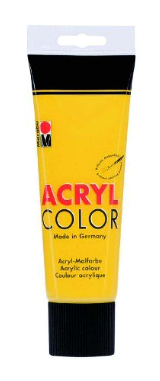 Marabu 120125021?Acrylic Color 225?ml Mid-Yellow