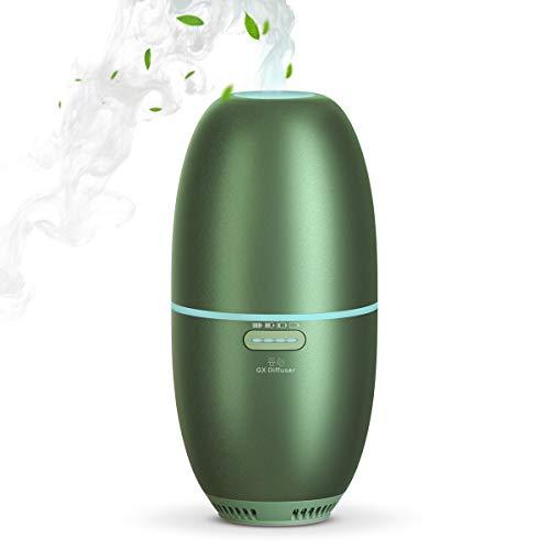 GX·Diffuser Cordless Diffuser, Small Car Diffuser For Essential Oils, Mini Humidifier, Car Aroma Diffuser, Cordless Diffuser For Essential Oils Battery Operated