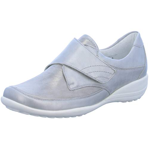 Waldläufer Damen Slipper Katja Soft K01304314/982 grau 588142