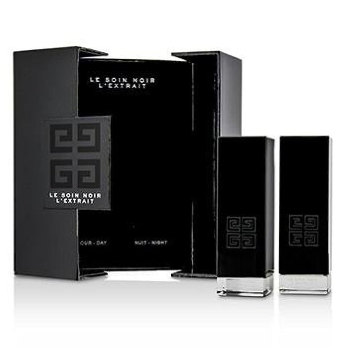 ソース劇的豆ジバンシィ Le Soin Noir L'Extrait: L'Extrait Day Serum 15ml/0.5oz + L'Extrait Night Serum 15ml/0.5oz 2pcs並行輸入品