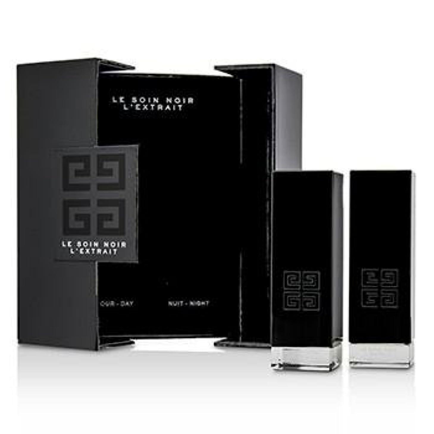 起きるエリート甲虫ジバンシィ Le Soin Noir L'Extrait: L'Extrait Day Serum 15ml/0.5oz + L'Extrait Night Serum 15ml/0.5oz 2pcs並行輸入品