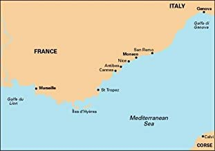 Imray Chart M15: Marseille to San Remo (M Series)