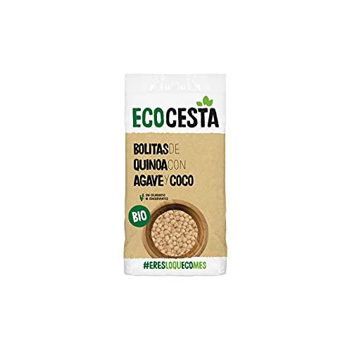 Ecocesta Bolitas Ecológicas de Quinoa con Agave y Coco Aptas para Veganos (300g)