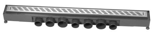 Wirquin 30719769 Express'eau Abflussgitter für Duschen, 700mm