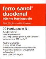 Ferro Sanol Duodenal Magens.res.pellets I.kaps. 20 ST
