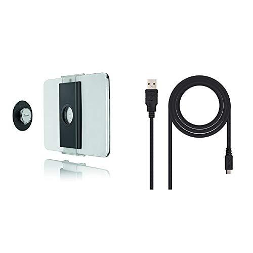 Vogel's TMS 1010, Paquete de Montaje de Tablet en Pared, Universal + NanoCable 10.01.0503 - Cable USB 2.0 a Micro USB, Uso Principal en moviles y camaras Digitales