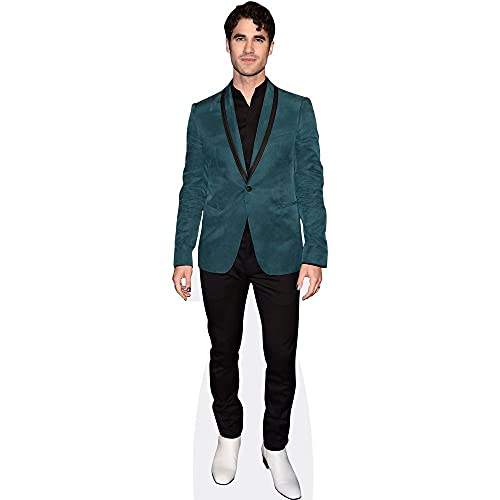 Celebrity Cutouts Darren Criss (Turquoise) Taille Mini