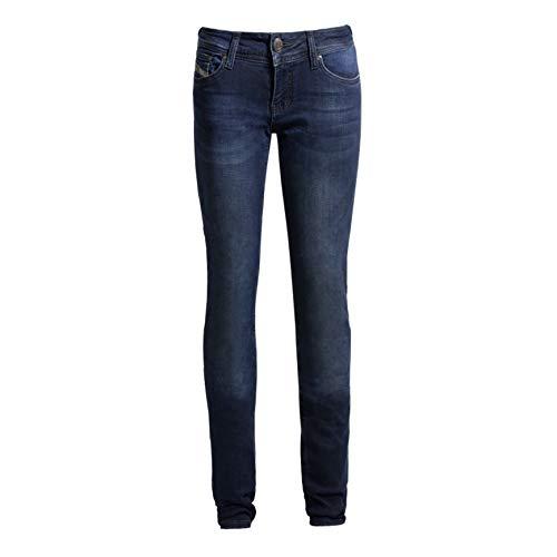 John Doe Betty High XTM dames jeans blauw 36 L30
