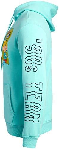 90s cartoon hoodie _image0