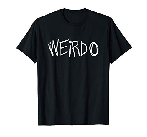 EMO Punk Gift - Funny 2000s 00s EMO Style Weirdo T-Shirt