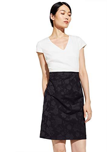 comma Damen 8T.003.82.5374 Kleid, 59C8 Floral Print, 40