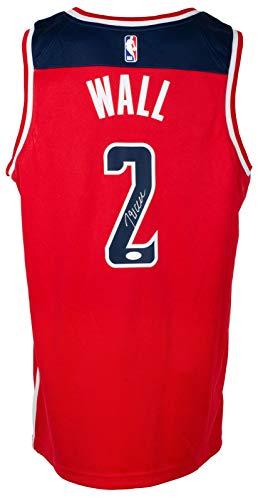 John Wall Autographed Signed Red Washington Authentic Swingman Basketball Jersey JSA ITP