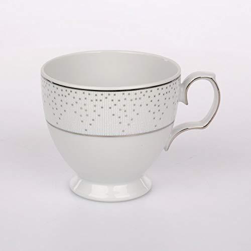 MariaPaula Kaffeeservice Teeservice Tafelservice Tassen mit Untertassen Chodziez Snow (Tasse 220 ml)