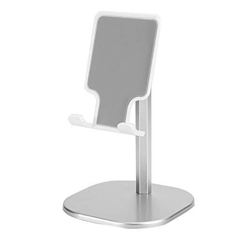 Oreilet Soporte Ajustable para teléfono Celular, Soporte Duradero para automóvil, para Todo Tipo de teléfonos Inteligentes Tabletas de Fuerte compatibilidad General de Todos los tamaños Uso(White)
