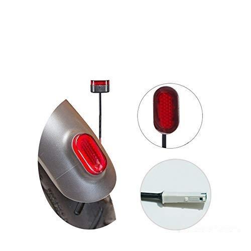TTAototech vervangende achterlichten, elektrische scooter remlicht veiligheidsremlicht accessoires compatibel met Xiaomi M365