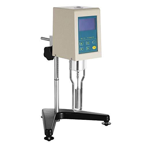 cgoldenwall Viskosimeter Digital Display Viskosität Tester Rotary Viskosität Messgerät Newton Liquid fluidimeter Messbereich 100.000–100.000MP. S1–4Rotor ndj-5s, 110V, 1