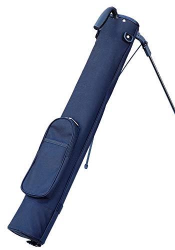セルフスタンドバッグ ゴルフ シンプル NOLOGO-SSC (ブラック)
