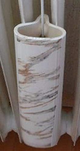 Luftbefeuchter/Heizungsverdunster für Rippenheizkörper aus Keamik mit Marmor Druck veredelt