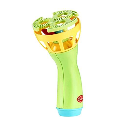 Willekeurige kleur Mini-fan Bubble elektronische bubbels blazen Maker Machine Bubble Blower Kinderen Buitenspeelgoed Speelgoed Kind Electronic Bubbles Blowing Toy