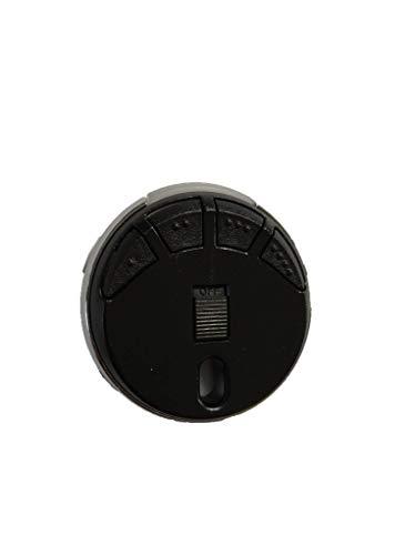 3 X Mando a distancia HÖRMANN HSP4-868-BS NEGRO, 868,3Mhz BiSecur transmisor de 4 canales. De calidad superior del mando a distancia original para HORMANN el mejor precio !!! ¡¡3 piezas!!