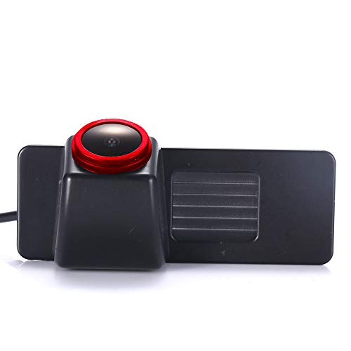 【Cool Rot】 Hochwertiges 18mm-Objektiv Autokennzeichen Licht Rückfahrkamera, für Opel Mokka/lnsignia Sports Tourer/Vectra C Caravan/Astra J Turnier/Chevrolet Cruze/Camaro/Equinox/Impala Sonic Traverse