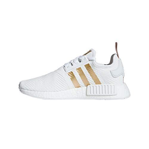 Adidas NMD_R1 W - FTWWHT/COPPMT/ASHPEA, Größe:4