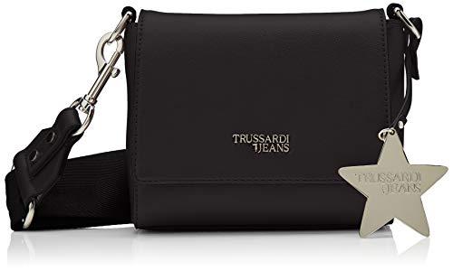 Trussardi Jeans T-Easy Cacciatora Charm Star logo schoudertas dames 16x14x6 cm (W x H x L)