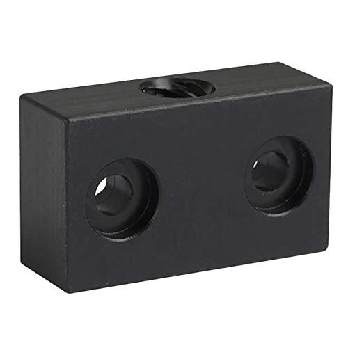 Écrou d'imprimante 3D à chaud anti-retour T Écrou à écrous Openbuilds Type Anti-Backlash Block Block T8 Vis 8mm Vis à vis par FENGL ZYSS (Color : Black)
