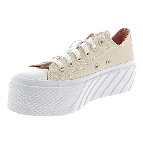 Converse CTAS Lift 2X Zapatos Deportivos para Mujer Beige 571576C