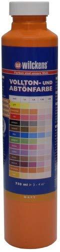 Wilckens Abtoenfarbe - Volltonfarbe / 750 ml/matt - 14 Farben zur Auswahl (Reinorange)
