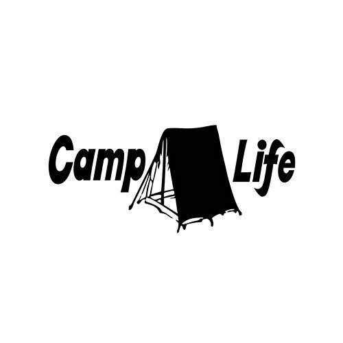 CTMNB Auto-label voor tent, camp en life, interieur, vinyl, decoratieaccessoire voor autodecoratie