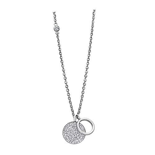 Lotus Style Edelstahl Halskette LS1862-1/1 Damen Silber Schmuck D2JLS1862-1-1 EIN schönes Geschenk zu Weihnachten, Geburtstag, Valentinstag für die Frau