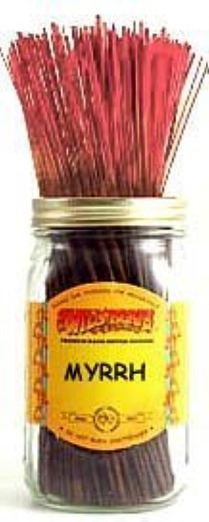 防水失礼道1 X Myrrh - 100 Wildberry Incense Sticks [並行輸入品]