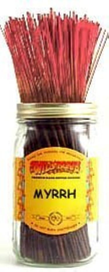 普通に収穫必要としている1 X Myrrh - 100 Wildberry Incense Sticks [並行輸入品]