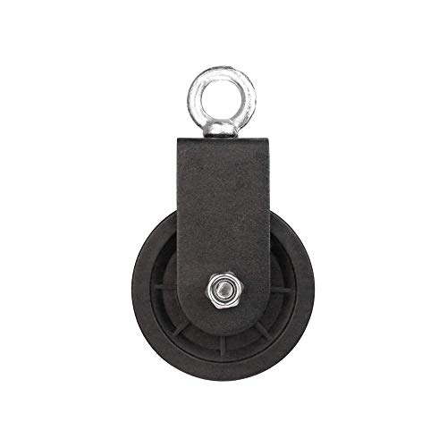 Pulley Block Heavy Duty Gym Mute Bearing Lifting Nylon Pulley Wheel Cable Pulley Roller Fitness Equipment