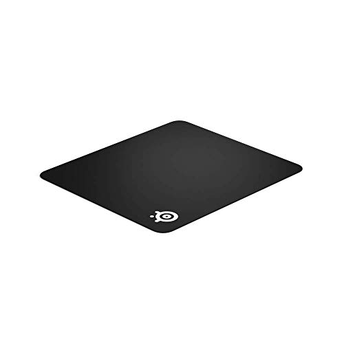 SteelSeries QcK Gaming Surface - Large Cloth - Best Selling Mouse Pad of All Time - Optimized For Gaming Sensors (Renewed)