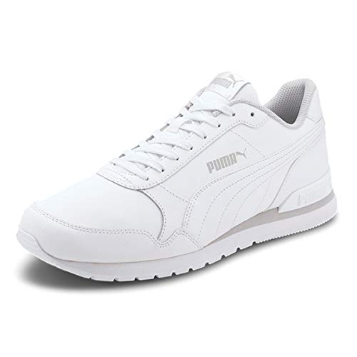PUMA ST Runner V2 Full L, Sneaker Unisex-Adulto, White White/Gray Violet, 37.5 EU
