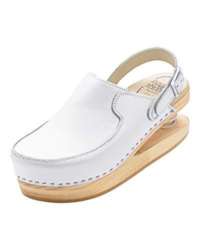 CLINIC DRESS Federclog weiß 38
