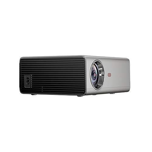 Draagbare Smart WiFi-projector, led Hd 1080p automatische elektronische trapeziumcorrectie, 1,27: 1 projectieverhouding voor grote beeldschermen