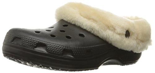 Crocs Classic Mammoth Luxe Clog Black/Black Größe 46-47