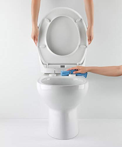 Tapa y asiento de inodoro con caida amortiguada – Compatible con Victoria Roca