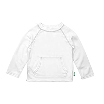 i play. by green sprouts Baby Breatheasy Protection Shirt, White, 6/12mo