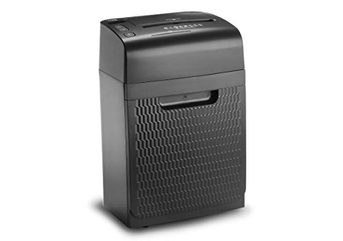 Dahle 35120 Aktenvernichter (120 Blatt, Autofeed Funktion: Automatischer Papiereinzug, P-4, Partikelschnitt, Komm auf die sichere Seite - die DSGVO gilt) schwarz