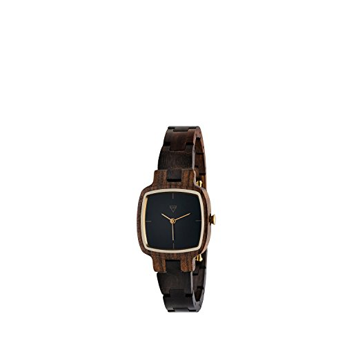 Kerbholz Damen-Armbanduhr Greta Analog Quarz Holz 0612524231039