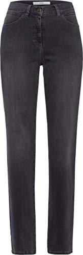 BRAX Damen STYLE.CAROLA Bootcut Jeans, Grau (Used Grey 5), W36/L32 (Herstellergröße: 46)